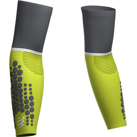 Compressport ArmForce Ultralight Arm Mouwen, lime/grey